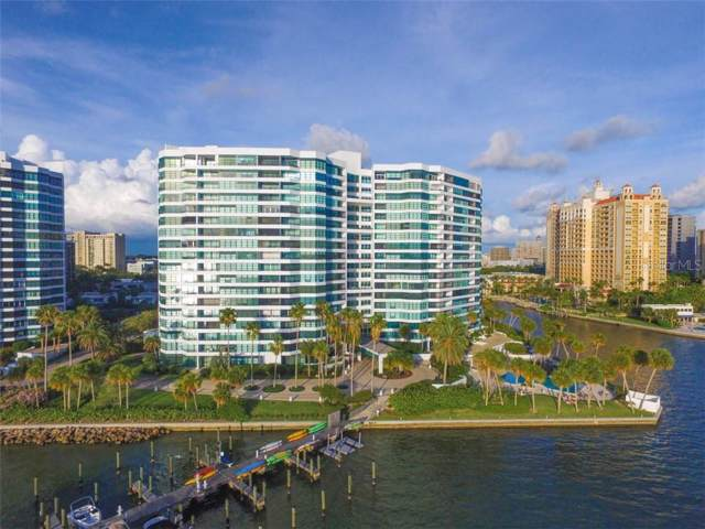 888 Blvd Of The Arts #1505, Sarasota, FL 34236 (MLS #A4442061) :: McConnell and Associates