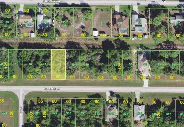 470 Sunset Road N, Rotonda West, FL 33947 (MLS #A4442256) :: Premium Properties Real Estate Services