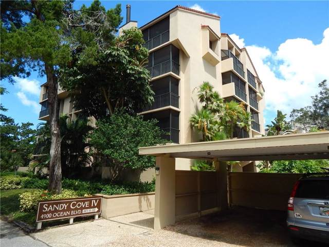4900 Ocean Boulevard #201, Sarasota, FL 34242 (MLS #A4444392) :: The Figueroa Team