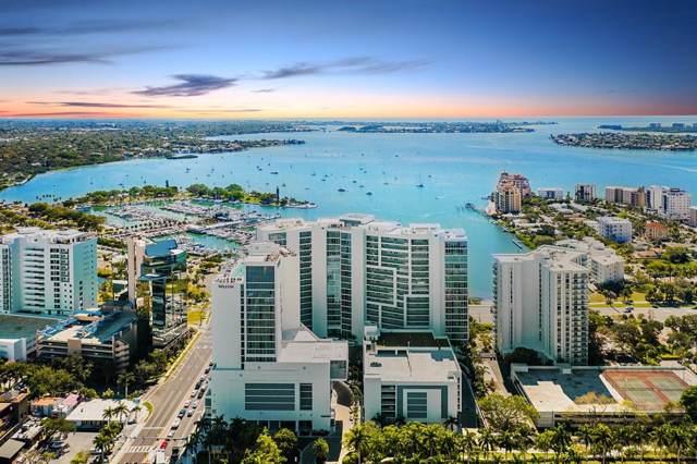 1155 N Gulfstream Avenue #1106, Sarasota, FL 34236 (MLS #A4445358) :: Alpha Equity Team