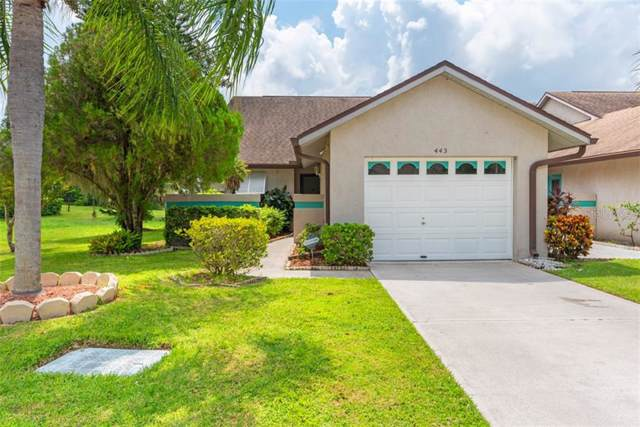 40th W Court #443, Palmetto, FL 34221 (MLS #A4445527) :: Florida Real Estate Sellers at Keller Williams Realty