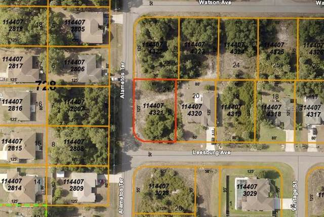 Leesburg Avenue, North Port, FL 34288 (MLS #A4445834) :: White Sands Realty Group