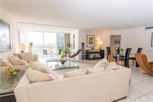 435 S Gulfstream Avenue #807, Sarasota, FL 34236 (MLS #A4445845) :: Zarghami Group