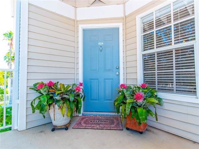 850 S Tamiami Trail #824, Sarasota, FL 34236 (MLS #A4445874) :: Gate Arty & the Group - Keller Williams Realty Smart