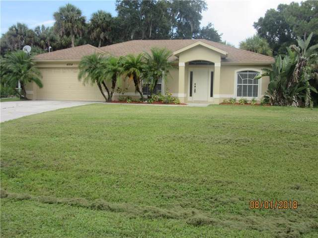 4954 Beckham Street, North Port, FL 34288 (MLS #A4445897) :: White Sands Realty Group