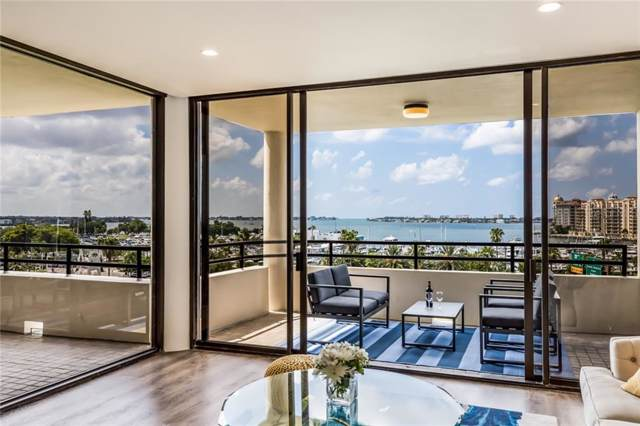 1255 N Gulfstream Avenue #604, Sarasota, FL 34236 (MLS #A4446240) :: Gate Arty & the Group - Keller Williams Realty Smart