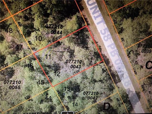 Sannatonah Street, North Port, FL 34287 (MLS #A4446680) :: Burwell Real Estate