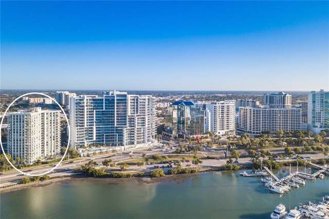 1111 N Gulfstream Avenue 13E, Sarasota, FL 34236 (MLS #A4447815) :: Alpha Equity Team
