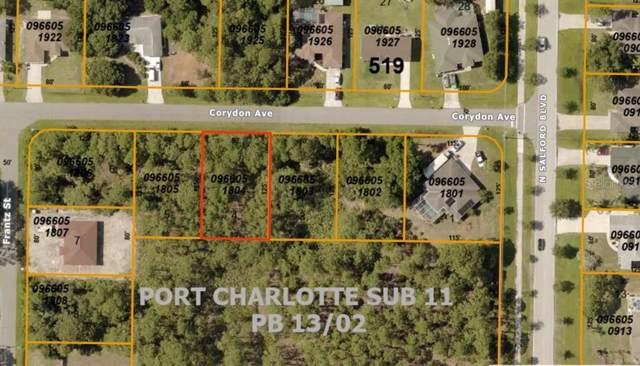 0966051804 Corydon Avenue, North Port, FL 34286 (MLS #A4448923) :: Team Bohannon Keller Williams, Tampa Properties