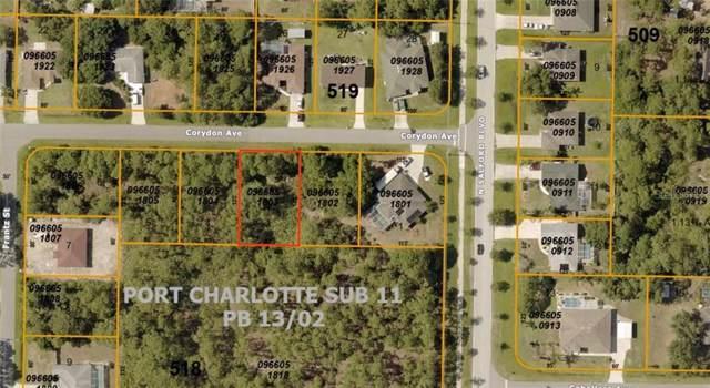 0966051803 Corydon Avenue, North Port, FL 34286 (MLS #A4448924) :: Ideal Florida Real Estate