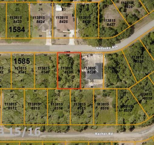 Nadasky Avenue, North Port, FL 34288 (MLS #A4450507) :: Team Bohannon Keller Williams, Tampa Properties
