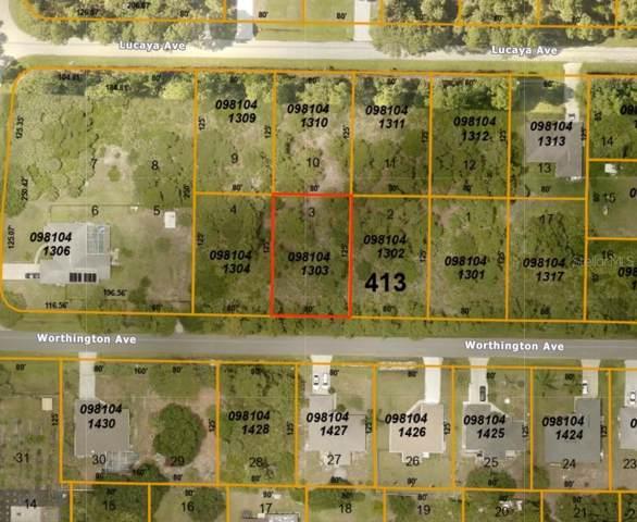 Worthington Avenue #3, North Port, FL 34286 (MLS #A4450632) :: Team Bohannon Keller Williams, Tampa Properties