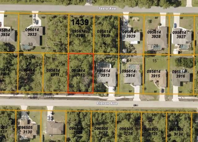 Eldron Avenue, North Port, FL 34286 (MLS #A4450845) :: Team Bohannon Keller Williams, Tampa Properties