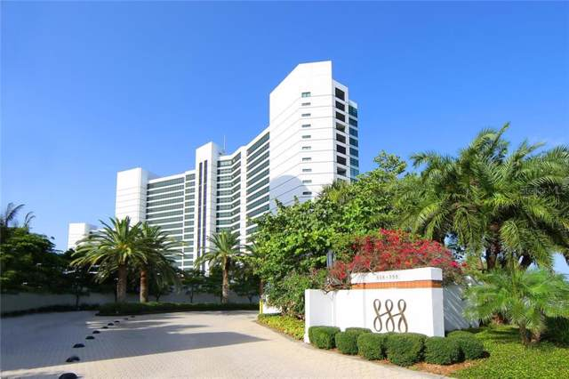 888 Blvd Of The Arts #1406, Sarasota, FL 34236 (MLS #A4450907) :: McConnell and Associates