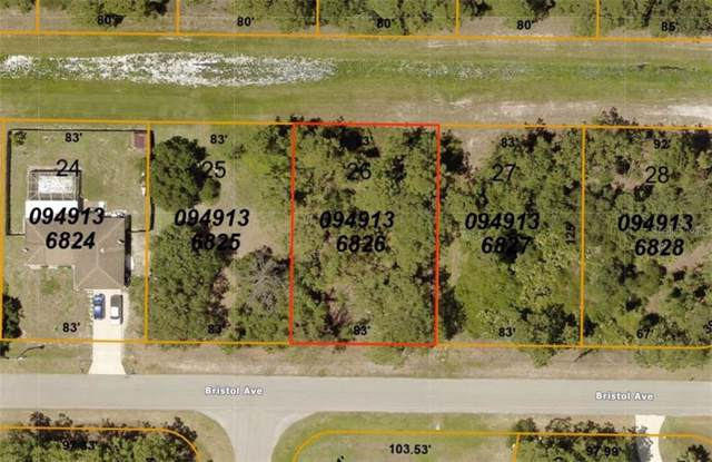 0949136826 Bristol Avenue, North Port, FL 34291 (MLS #A4450985) :: Rabell Realty Group