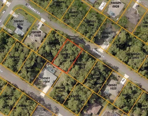 Shaker Lane, North Port, FL 34286 (MLS #A4451244) :: Team Bohannon Keller Williams, Tampa Properties