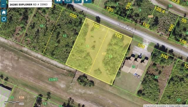 26285 Explorer Road, Punta Gorda, FL 33983 (MLS #A4451726) :: Florida Real Estate Sellers at Keller Williams Realty