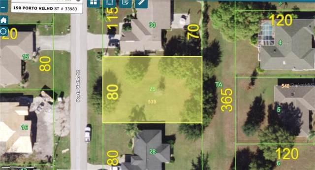 190 Porto Velho Street, Punta Gorda, FL 33983 (MLS #A4451729) :: Florida Real Estate Sellers at Keller Williams Realty