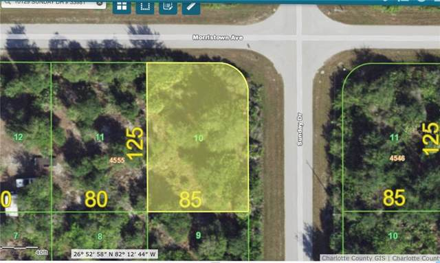 10129 Sunday Drive, Port Charlotte, FL 33981 (MLS #A4452438) :: The Duncan Duo Team