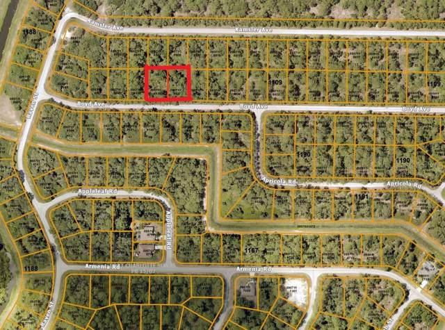 Boyd (Double Lot) Avenue, North Port, FL 34286 (MLS #A4453284) :: Team Bohannon Keller Williams, Tampa Properties