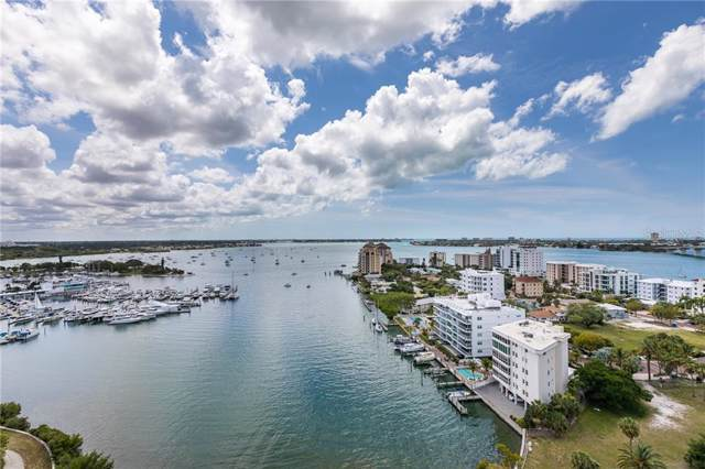 1111 N Gulfstream Avenue Ph-A, Sarasota, FL 34236 (MLS #A4453562) :: 54 Realty