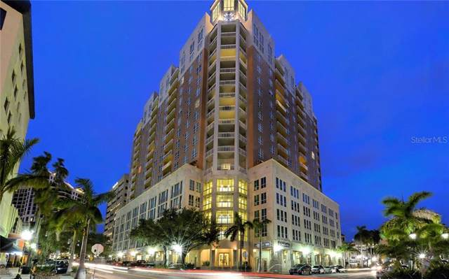 1350 Main Street #809, Sarasota, FL 34236 (MLS #A4453583) :: Remax Alliance