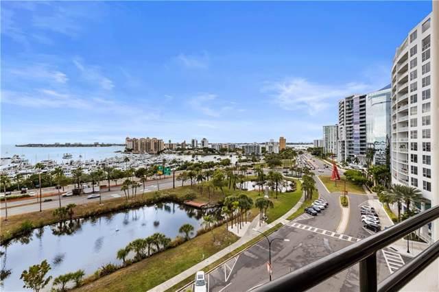 1255 N Gulfstream Avenue #805, Sarasota, FL 34236 (MLS #A4453901) :: Charles Rutenberg Realty