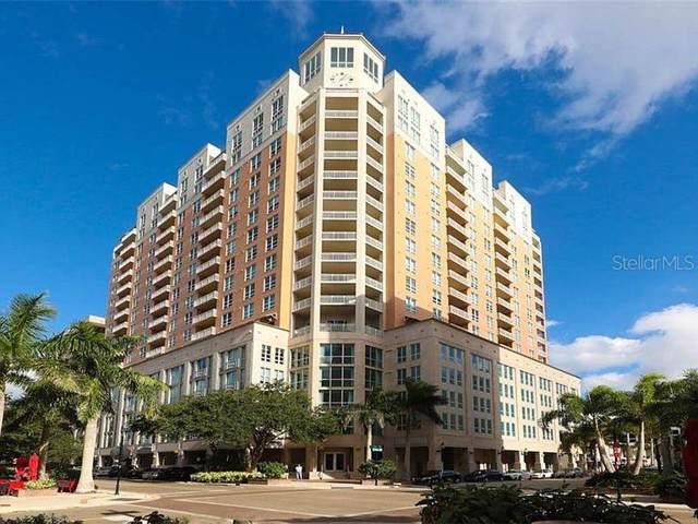 1350 Main Street #1105, Sarasota, FL 34236 (MLS #A4454177) :: Godwin Realty Group