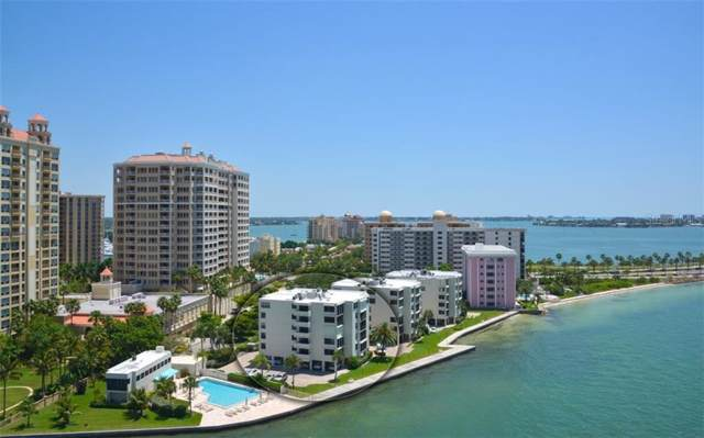 101 Sunset Drive #402, Sarasota, FL 34236 (MLS #A4456419) :: Team Bohannon Keller Williams, Tampa Properties