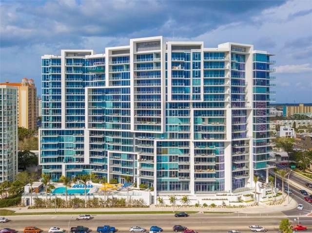 1155 N Gulfstream Avenue #805, Sarasota, FL 34236 (MLS #A4456466) :: 54 Realty