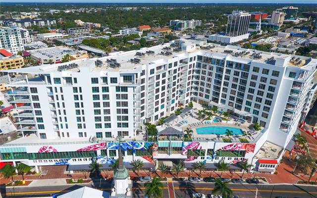 111 S Pineapple Avenue #820, Sarasota, FL 34236 (MLS #A4456600) :: The Comerford Group