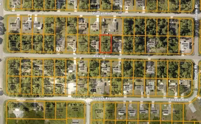 Alesio Avenue, North Port, FL 34286 (MLS #A4457079) :: Cartwright Realty