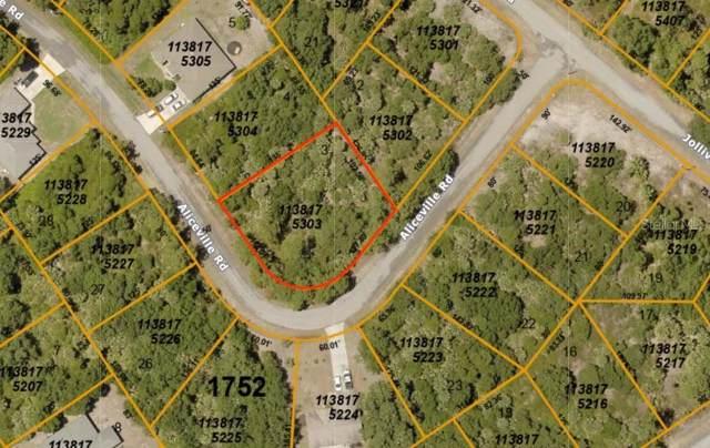 Aliceville Road, North Port, FL 34288 (MLS #A4457141) :: Team Bohannon Keller Williams, Tampa Properties