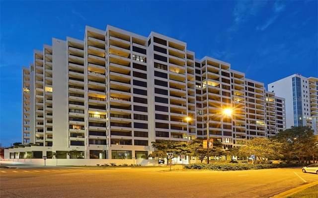 1255 N Gulfstream Avenue #701, Sarasota, FL 34236 (MLS #A4459304) :: Alpha Equity Team