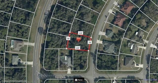 Boswell Street, North Port, FL 34288 (MLS #A4459841) :: Team Bohannon Keller Williams, Tampa Properties