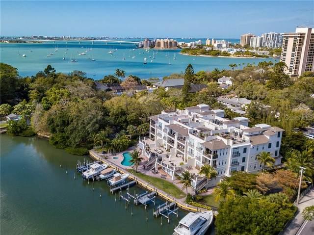 888 S Orange Avenue 3D, Sarasota, FL 34236 (MLS #A4459896) :: The Paxton Group