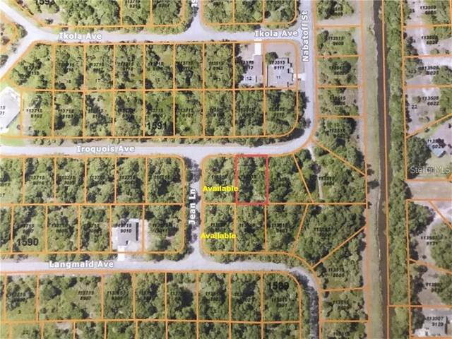 Iroquois Avenue, North Port, FL 34288 (MLS #A4460439) :: Mark and Joni Coulter | Better Homes and Gardens
