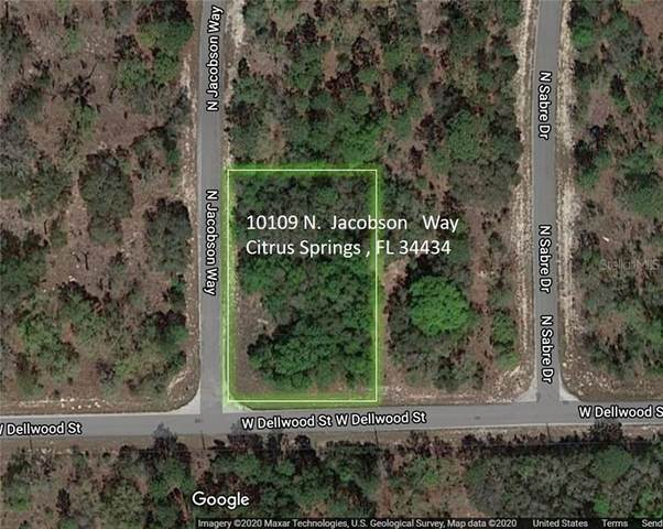 10109 N Jacobson Way, Citrus Springs, FL 34434 (MLS #A4460710) :: Griffin Group
