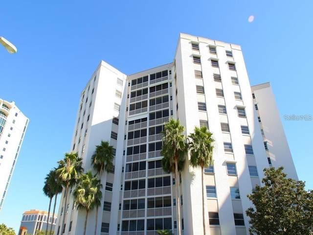 435 S Gulfstream Avenue #801, Sarasota, FL 34236 (MLS #A4460871) :: The Light Team