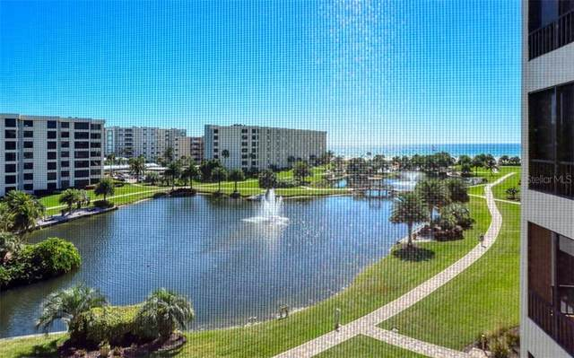 5760 Midnight Pass Road #502, Sarasota, FL 34242 (MLS #A4461103) :: Lockhart & Walseth Team, Realtors