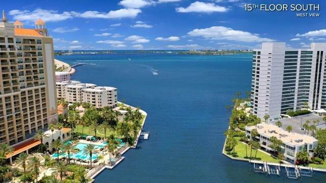 200 Quay Commons #1504, Sarasota, FL 34236 (MLS #A4461900) :: Homepride Realty Services