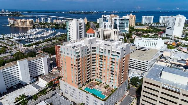 1350 Main Street #606, Sarasota, FL 34236 (MLS #A4462318) :: The Figueroa Team