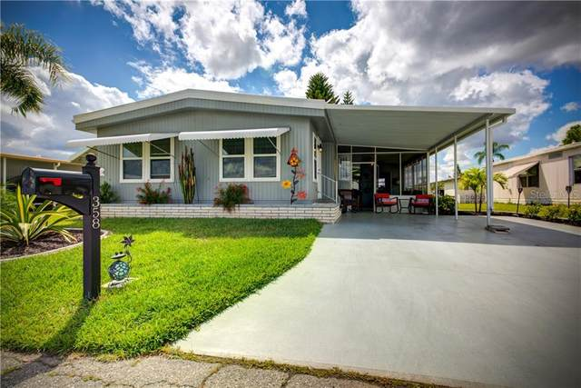 358 Trailorama Drive, North Port, FL 34287 (MLS #A4464864) :: Team Bohannon Keller Williams, Tampa Properties