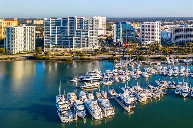 1155 N Gulfstream Avenue #905, Sarasota, FL 34236 (MLS #A4466306) :: Team Pepka