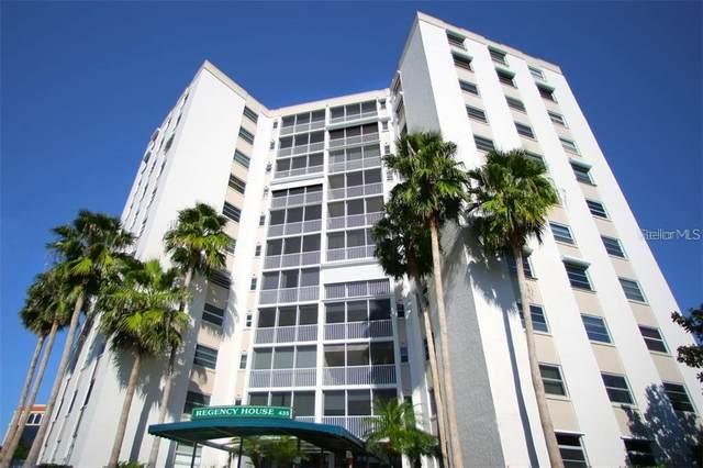 435 S Gulfstream Avenue #807, Sarasota, FL 34236 (MLS #A4466347) :: KELLER WILLIAMS ELITE PARTNERS IV REALTY
