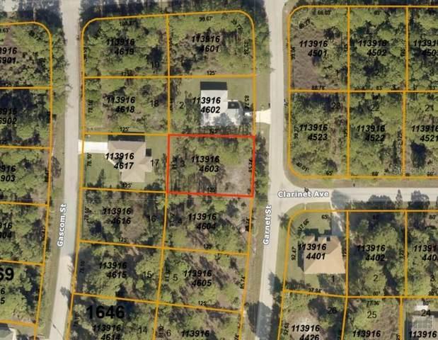 Garnet Street, North Port, FL 34288 (MLS #A4466362) :: The Duncan Duo Team