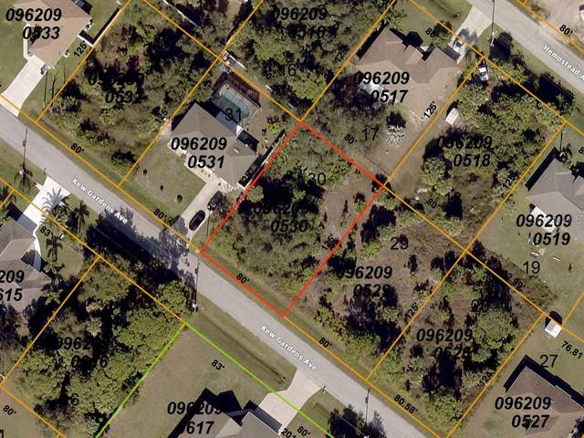 Kew Gardens Avenue, North Port, FL 34286 (MLS #A4467235) :: Team Bohannon Keller Williams, Tampa Properties