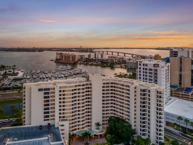1255 N Gulfstream Avenue #406, Sarasota, FL 34236 (MLS #A4467473) :: McConnell and Associates