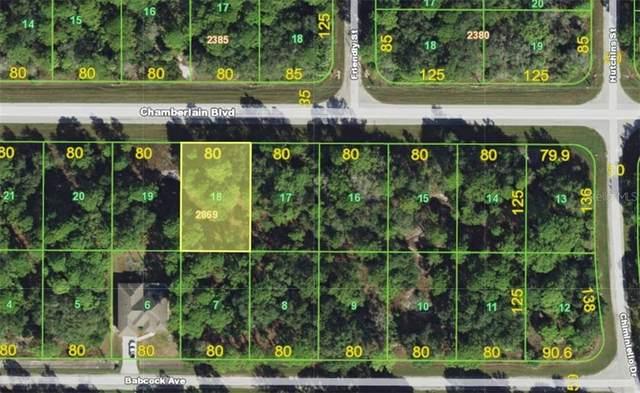 13187 Chamberlain Boulevard, Port Charlotte, FL 33953 (MLS #A4467648) :: Delta Realty Int