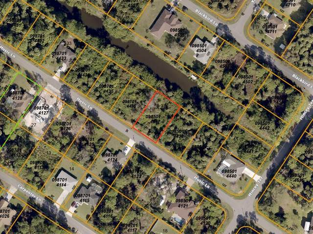 Music (Canal) Lane, North Port, FL 34286 (MLS #A4468936) :: Medway Realty